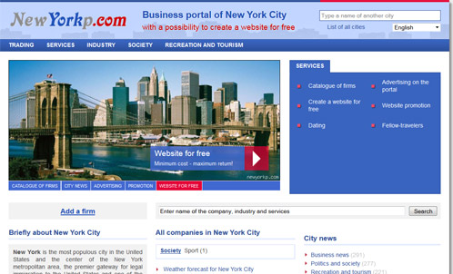 Business-portal sample